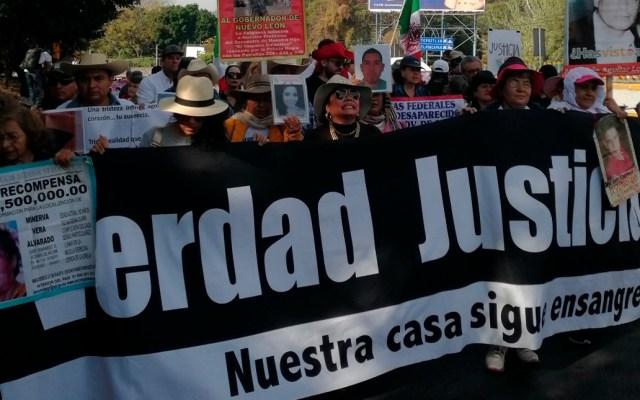 Caminata por la Verdad, la Justicia y la Paz retoma camino hacia la Ciudad de México - Caminata por la Verdad, la Justicia y la Paz. Foto de @CMDPDH