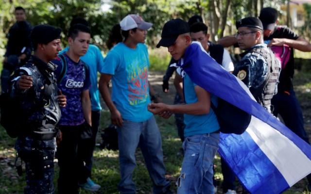 México no entregará salvoconductos a caravana de hondureños - Foto de EFE