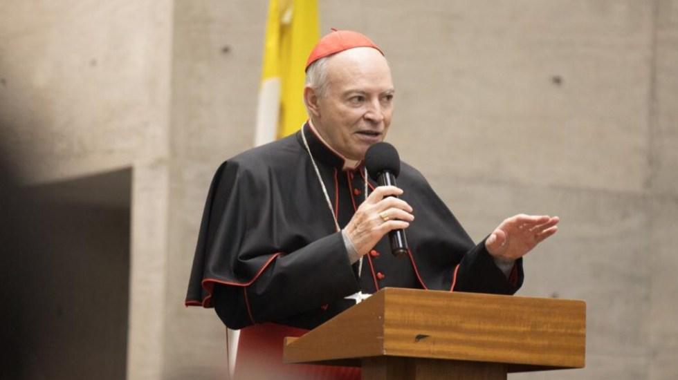 Arzobispo Aguiar Retes pide dar gracias por lo vivido en 2019 - Carlos Aguiar Retes. Foto de @ArzobispoAguiar