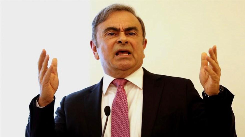 Ghosn denuncia persecución política de Nissan y de Fiscalía de Japón - Carlos Ghosn denuncia persecución política de Nissan y de Fiscalía de Japón
