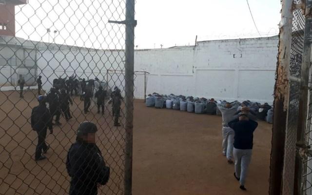 Decomisan armas hechizas y animales en penal de Nuevo Laredo - Cedes Nuevo Laredo Tamaulipas operativo