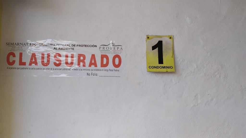 Clausuran de manera definitiva condominios en Manzanillo - Foto de Twitter Profepa
