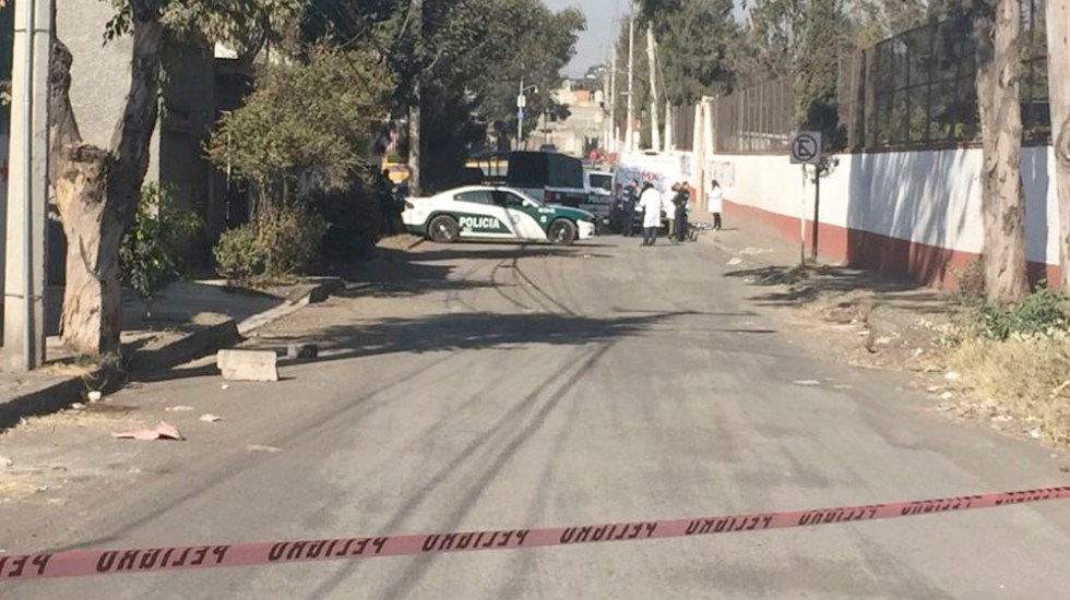 Hallan cadáver de hombre con huellas de tortura en Tláhuac - Hallan cadáver de hombre con huellas de tortura en Tláhuac