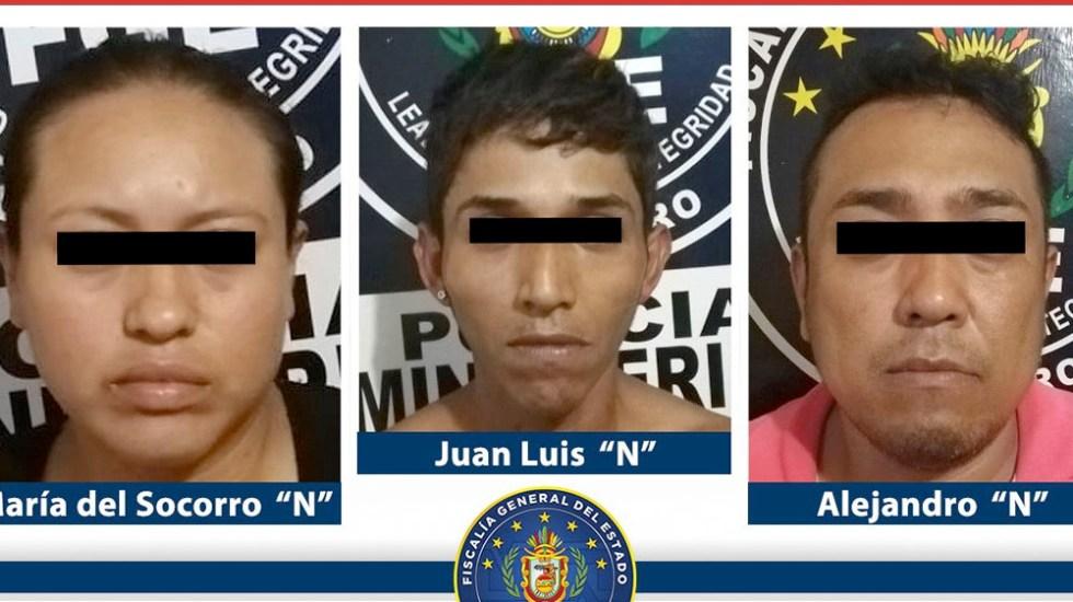 Detienen a tres con droga en Acapulco - Detienen a tres con droga en Acapulco