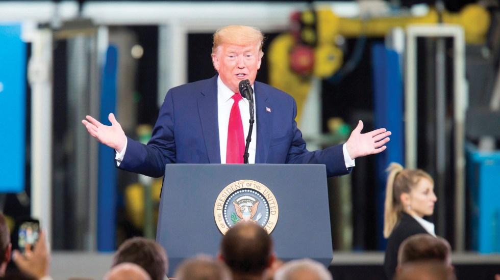 Aliados de Trump presionan para cerrar juicio político esta semana - Foto de EFE