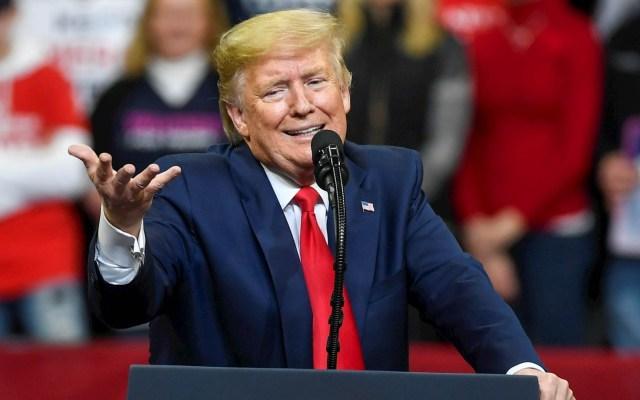 """""""Migrantes ilegales de México pagarán por el muro"""", asegura Trump - Donald Trump Estados Unidos Iowa Mitin"""