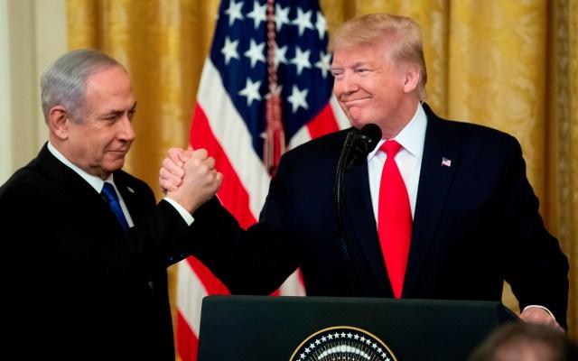 Egipto pide a Israel y Palestina considerar plan de paz de Trump - Foto de EFE