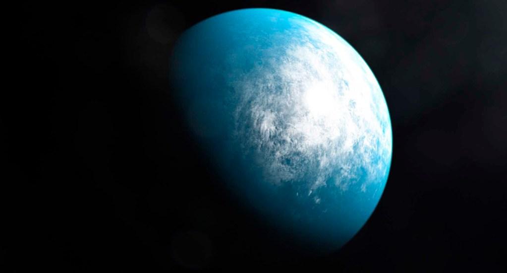 Hallan planeta del tamaño de la Tierra con capacidad de albergar agua - El planeta hallado es 20 por ciento más grande que la Tierra. Foto de @NASAExoplanets