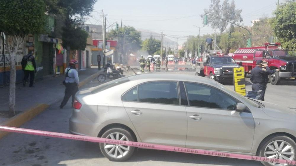 Desalojan a 500 personas en la GAM por fuga de gas que dejó un herido - Evacuan a 500 en la GAM por fuga de gas que dejó un herido