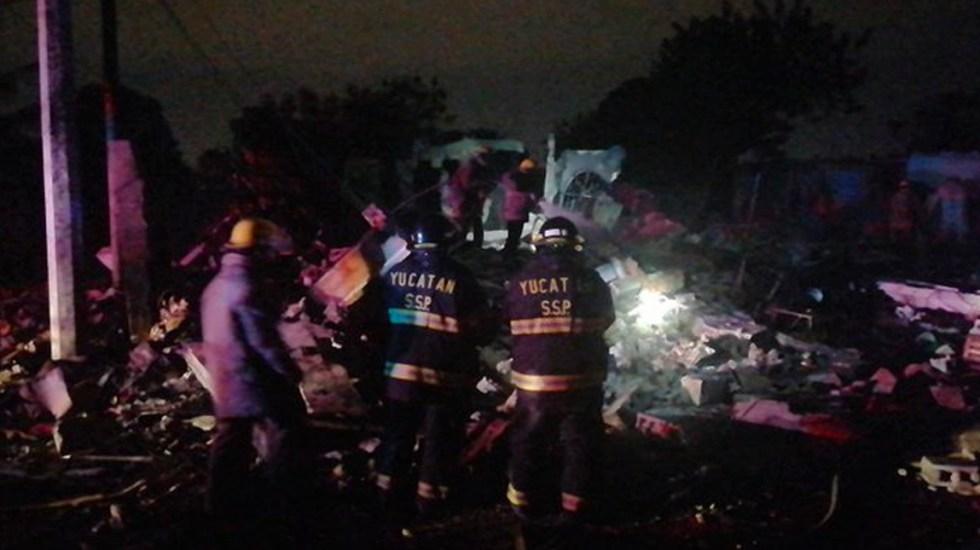 Explosión de pirotecnia en Yucatán deja un muerto - Explosión de pirotecnia en Yucatán deja un muerto