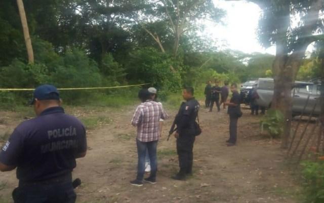Hallan cinco cuerpos en fosa de Tabasco - Foto de @DiarioPresente