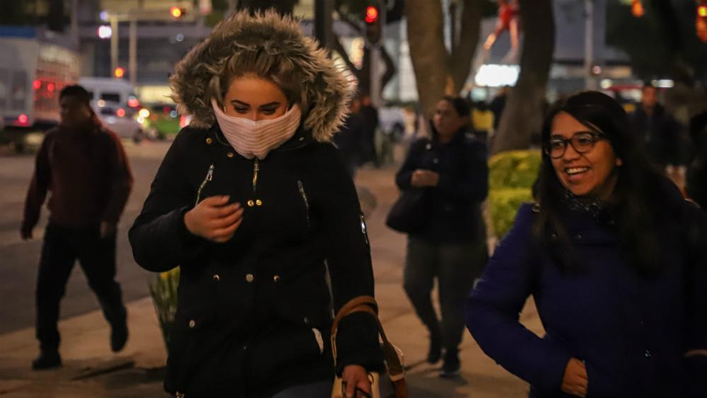 Activan alerta amarilla por bajas temperaturas, para este martes, en ocho alcaldías de la Ciudad de México - Foto de Notimex