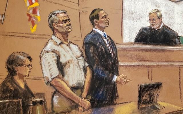 García Luna solicita salir de la cárcel por contagios de COVID-19 - Genaro García Luna tribunal Estados Unidos