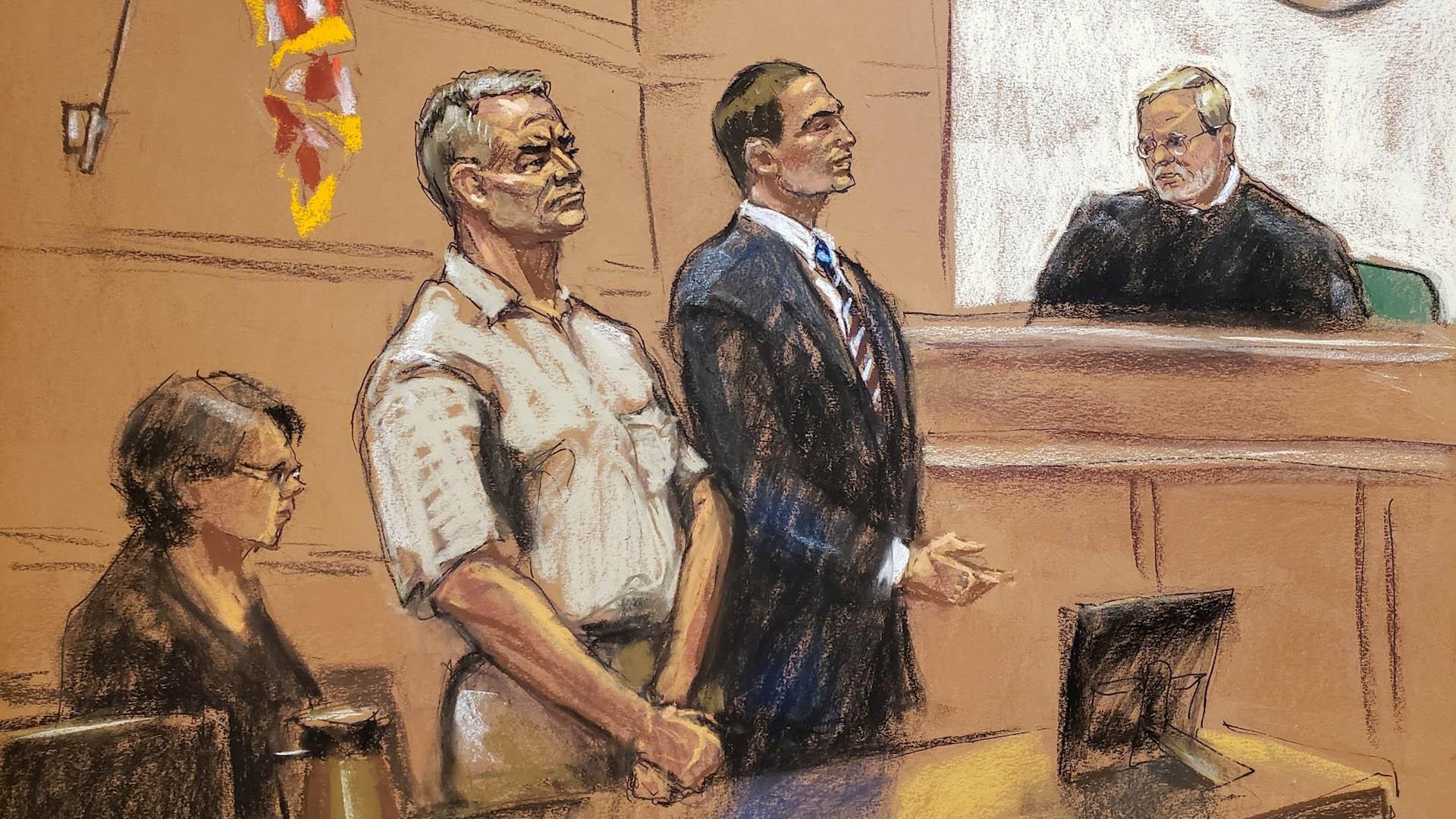 Genaro García Luna tribunal Estados Unidos
