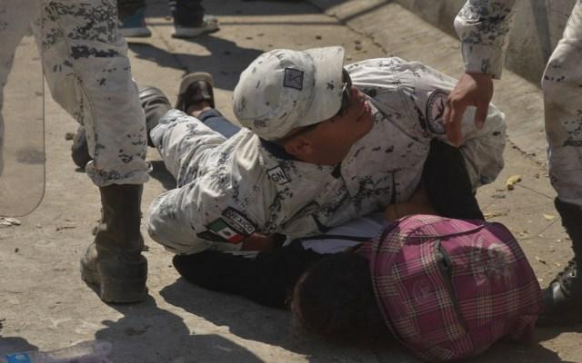 CNDH investiga actuación de Guardia Nacional en Chiapas; sostiene Rosario Piedra - Porfirio Muñoz Ledo volvió a criticar la actuación de la Guardia Nacional durante el