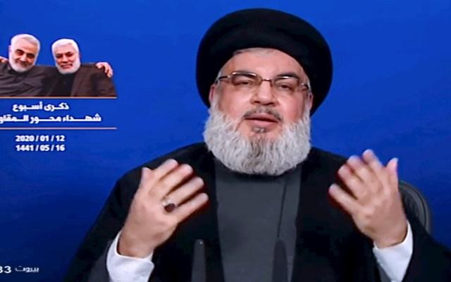 Ataques a bases en Irak son solo el principio de represalias contra EE.UU., advierte Hezbollah - Hasan Nasrallah Hezbollah