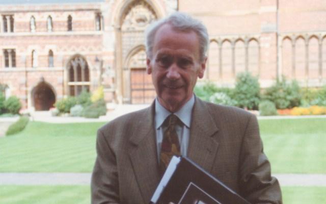Murió Christopher Tolkien, hijo del autor de 'El señor de los anillos' - Christopher Tolkien. Foto de @TolkienSociety
