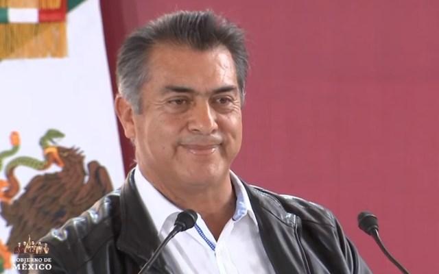 #Video Abuchean a Jaime Rodríguez 'El bronco' frente a López Obrador - Jaime Rodríguez 'El bronco'. Captura de pantalla