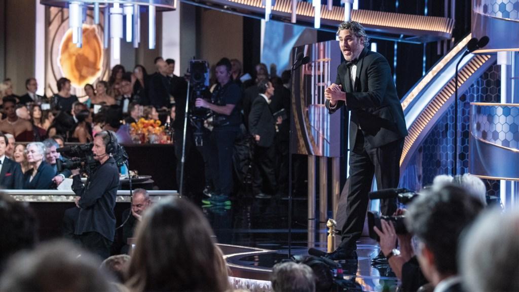 Joaquin Phoenix gana el Golden Globe como Mejor actor y despunta para el Óscar - Foto de EFE