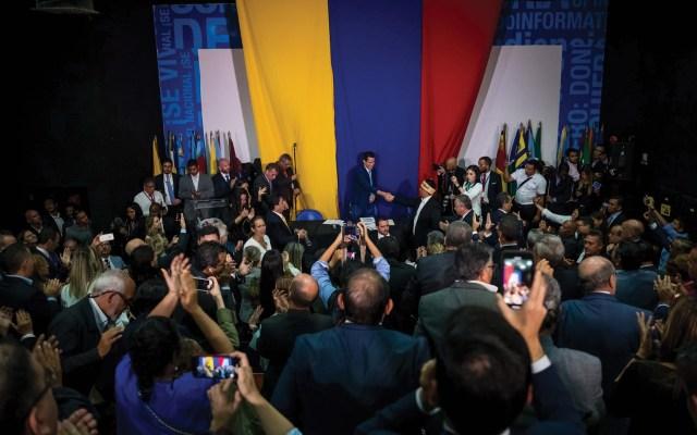 Asamblea Nacional de Venezuela confirma reelección de Juan Guaidó - Foto de EFE