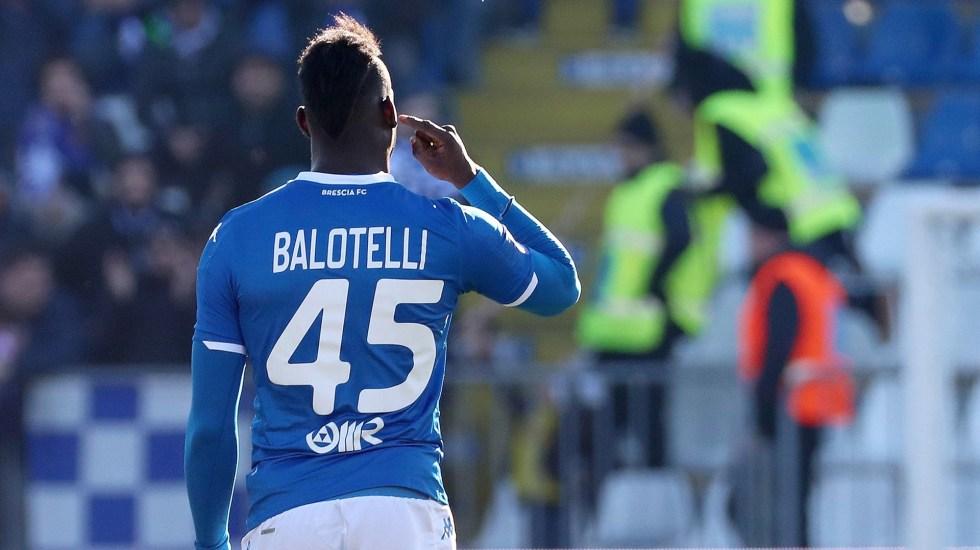 Balotelli sufre nuevos insultos racistas en partido contra el Lazio - Mario Balotelli. Foto de EFE