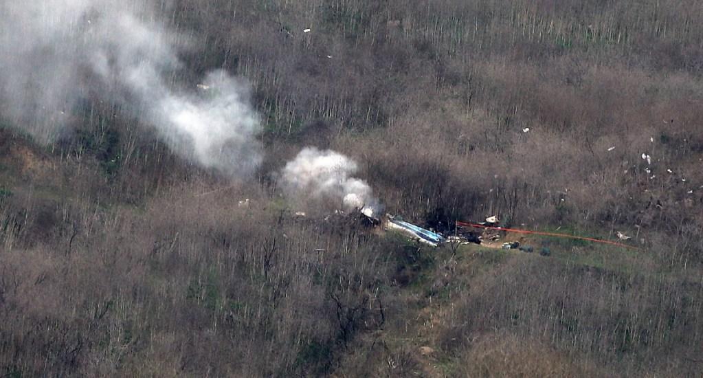 Piloto de accidente en que murió Kobe Bryant habría estado 'desorientado' - Kobe Bryant accidente Helicóptero