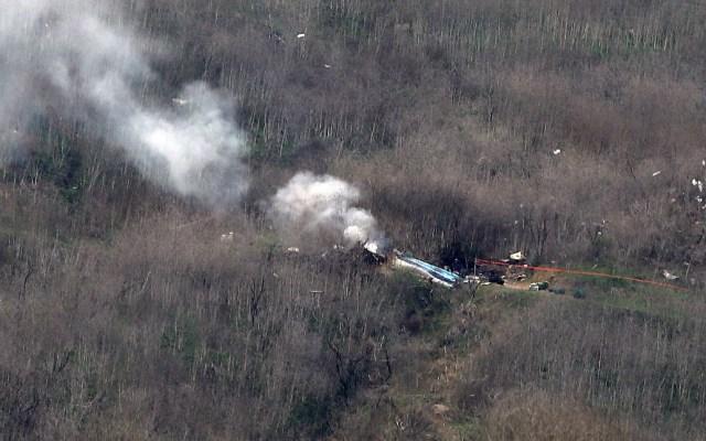 Viuda de Kobe Bryant demanda a compañía propietaria de helicóptero - Kobe Bryant accidente Helicóptero