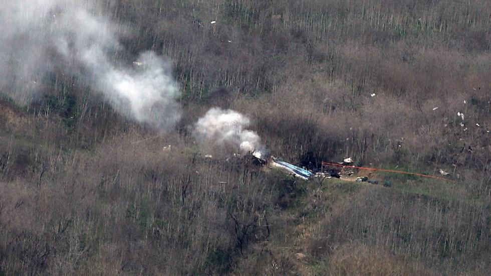 Piloto de helicóptero en donde murió Kobe Bryant se desorientó en las nubes, revela informe - Kobe Bryant accidente Helicóptero