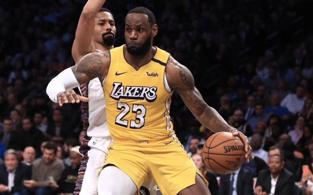 Lebron James lleva a la victoria a los Lakers sobre los Nets - Lakers Lebron James Nets Brooklyn