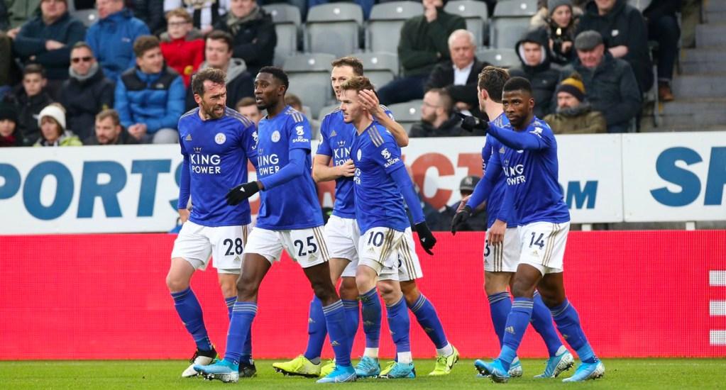 Leicester City derrota en casa al Newcastle