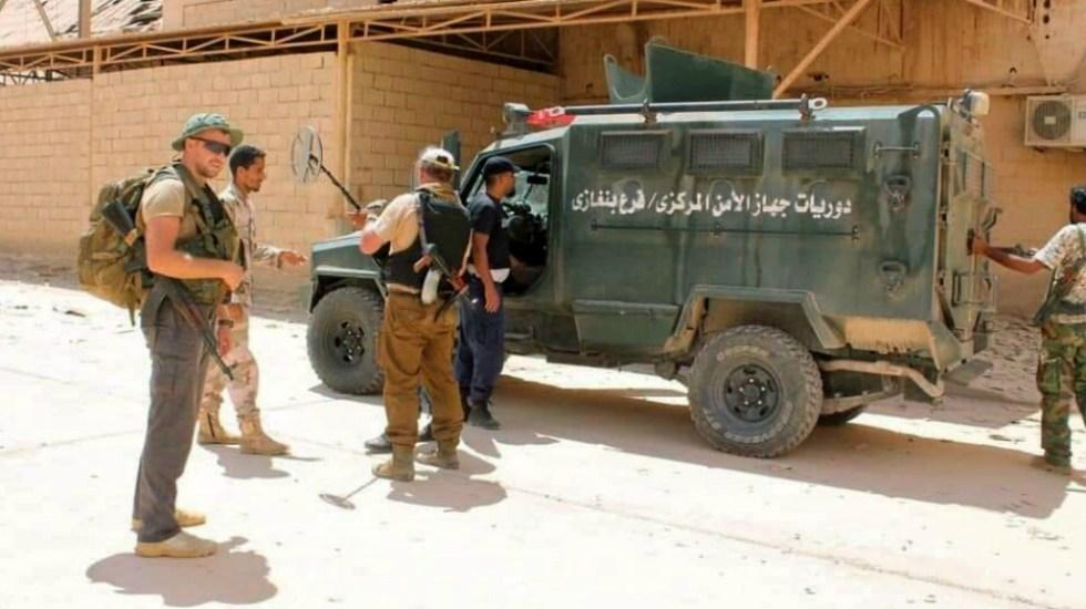 Hafter acepta un alto el fuego tras diez meses de duros combates en Libia - Foto de EFE