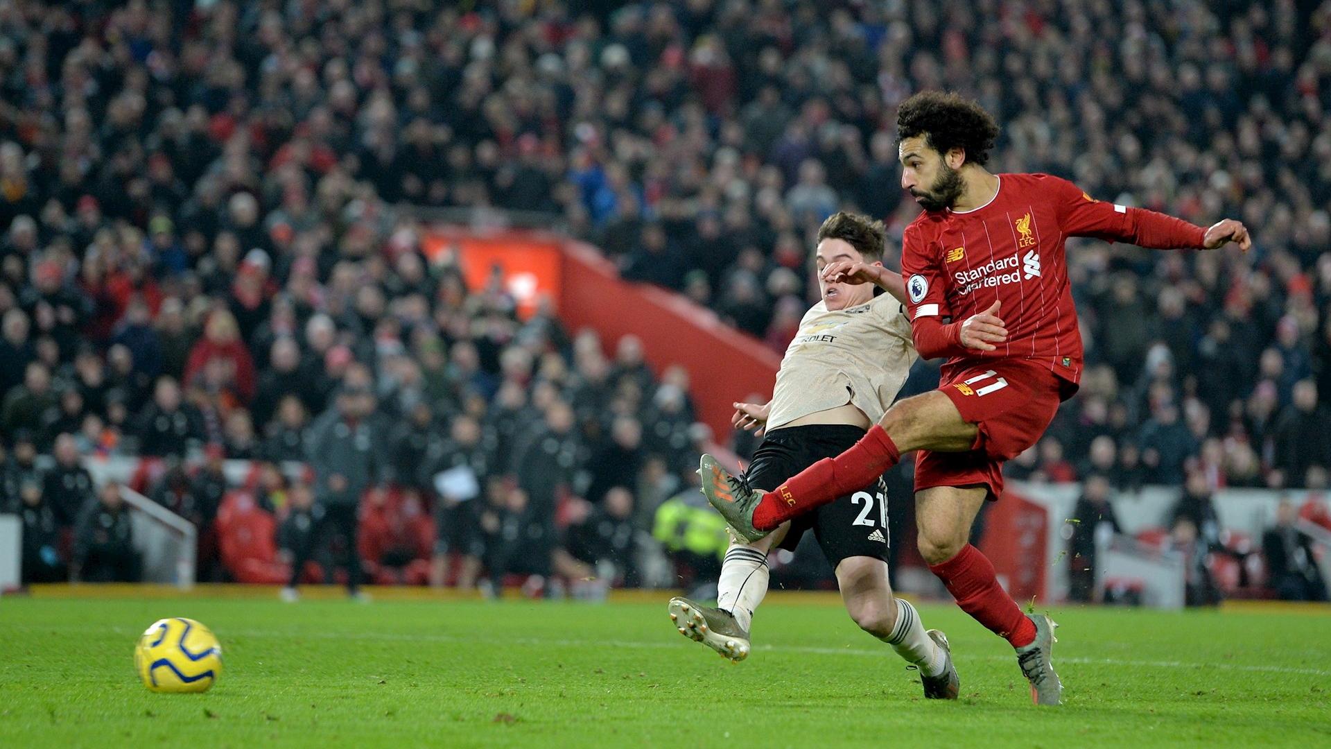Liverpool Manchester United Mohamed Salah 2