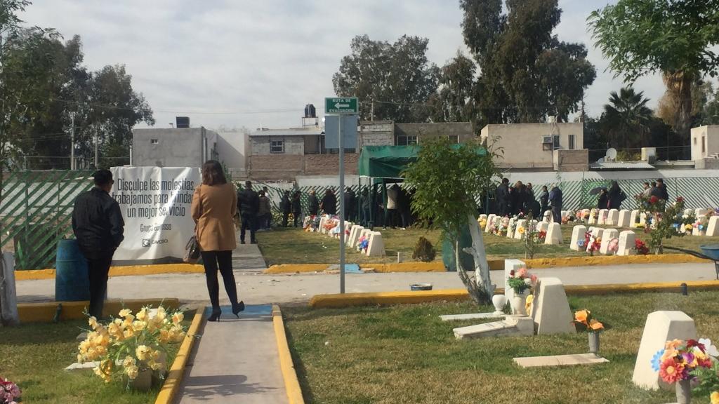 Sepultan a maestra víctima de tiroteo en Torreón - Maestra Torreón sepultura Gomez Palacio Durango