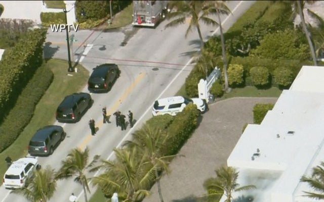 Disparan contra automóvil que intentó ingresar al resort de Trump de Mar-a-Lago; hay dos detenidos - Foto de FWTV