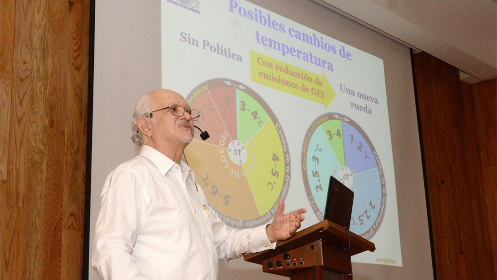 Mario Molina alerta por incremento de temperatura global - Mario Molina alerta por incremento de temperatura global