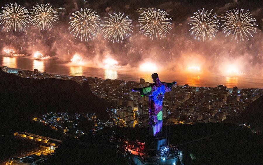 Nuevo récord de asistencia durante fiesta de fin de año en Río de Janeiro