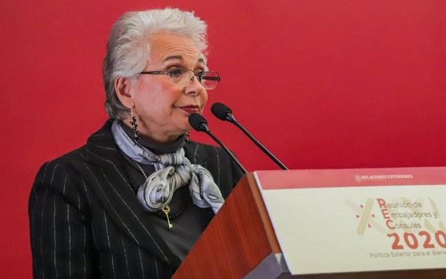 Sánchez Cordero condena asesinato de juez federal en Colima - Olga Sánchez Cordero Segob Gobernación 07012020