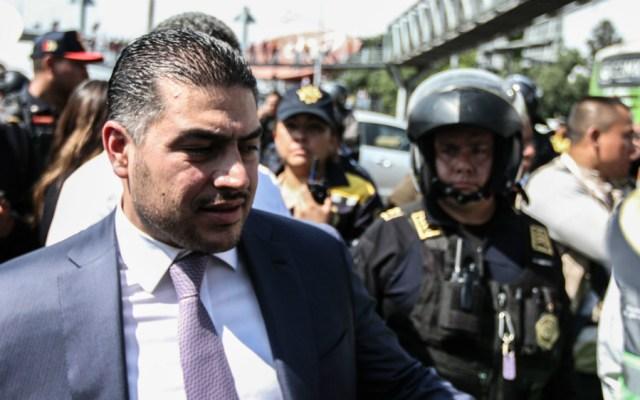 Han bajado delitos, pero no estamos satisfechos con resultados en seguridad, aseguró García Harfuch - Omar Garcia Harfuch, titular de SSC CDMX. Foto de Notimex