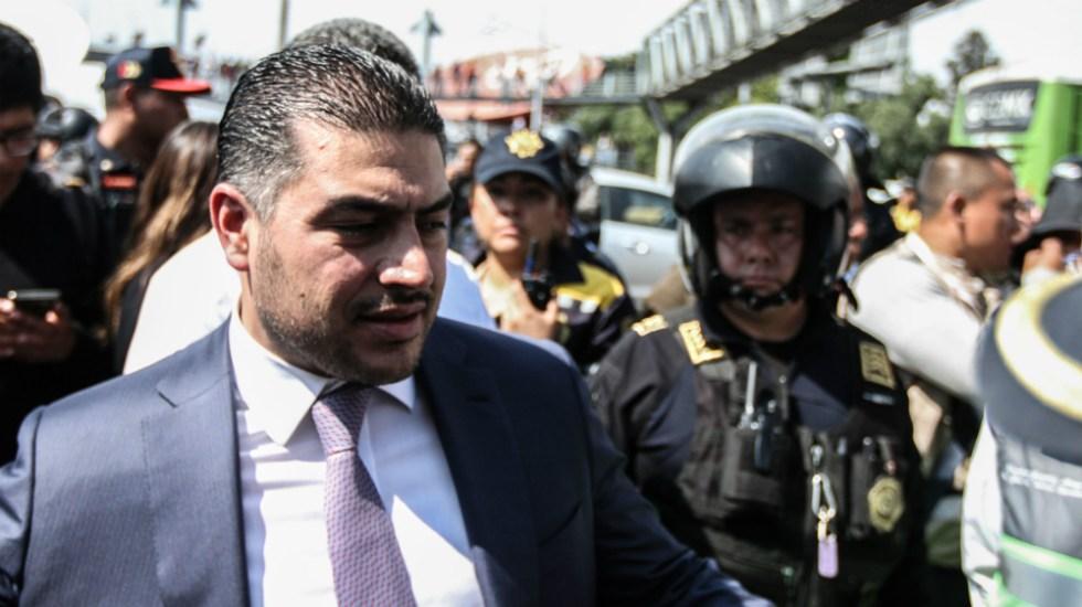 Han bajado delitos, pero no estamos satisfechos con resultados en seguridad, aseguró García Harfuch - Omar Garcia Harfuch