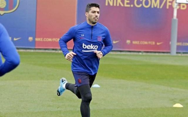 Operarán a Luis Suárez de la rodilla derecha tras lesión - Operarán a Luis Suárez de la rodilla derecha tras lesión