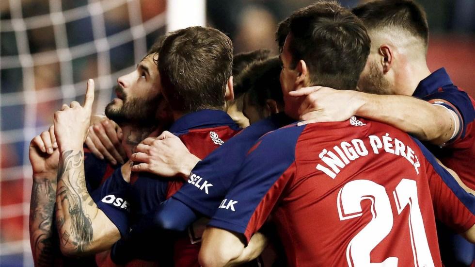 Osasuna vence al Levante en busca de salvación - Osasuna Levante partido España futbol