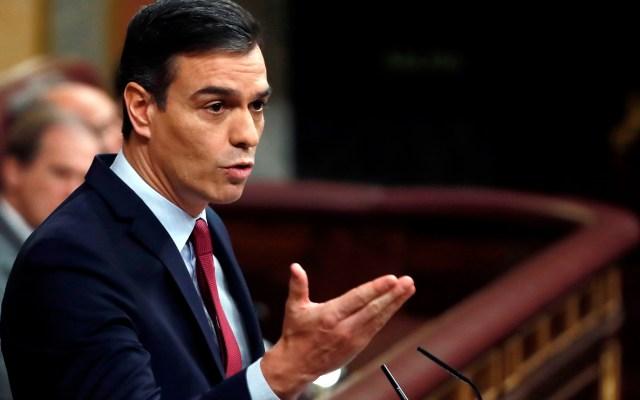 Rey de España firma decreto que hace oficial nombramiento de Pedro Sánchez - Pedro Sánchez en segunda jornada de su investidura. Foto de EFE