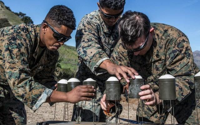 Pruebas en base militar de California alertan a habitantes de Tijuana - Pendleton explosivos soldados