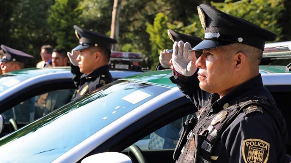 Ciudad de México reforzará seguridad con 8 mil 200 nuevos policías - Policías de la Ciudad de México. Foto de @PoliciaCDMX