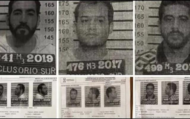 Fueron 8 los servidores públicos posiblemente implicados en fuga del Reclusorio Sur - Los reos fugados del Reclusorio Sur. Foto Especial.