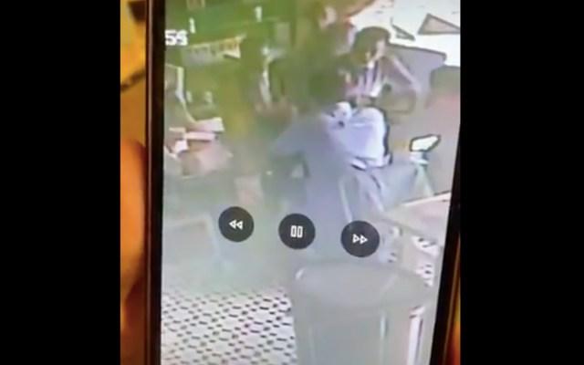 Diputado denuncia robo en cafetería cercana al Senado - Captura de pantalla
