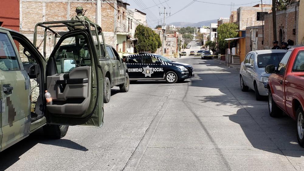 Enfrentamiento deja tres heridos en San Miguel de Allende - Foto de @28minutosD