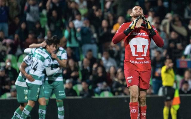 Santos vence a Pumas en octavos de ida en Copa MX - Santos Pumas Copa MX partido 2