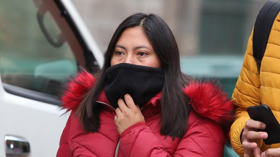Alerta Amarilla por frío en ocho alcaldías de la Ciudad de México - frío