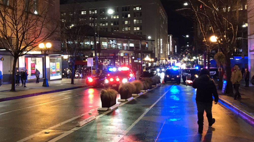 Tiroteo en el centro de Seattle deja al menos un muerto - Foto de @lookner